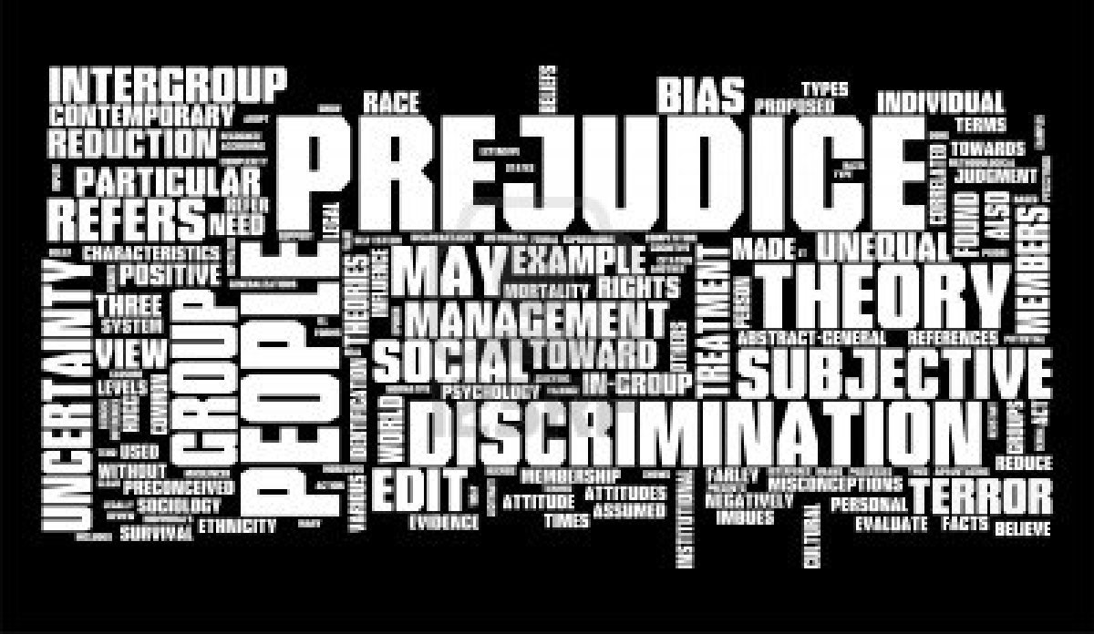 prejudice discrimination Gender discrimination has existed since decades ago we have real life examples of the males being favoured over females in terms of jobs employment, education.